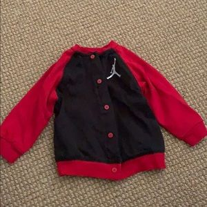 Baby Jordan Button Up Sweater